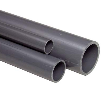 75mm Grey PVC Pipe - 2.5 metre length